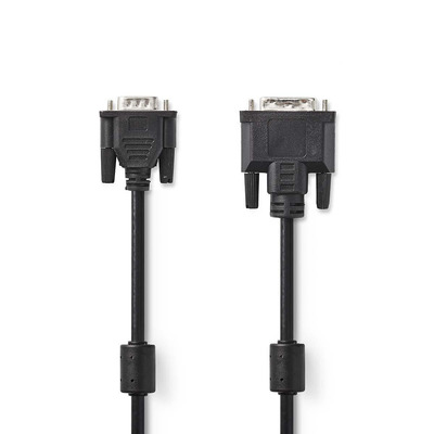 Nedis CCGP32100BK20 DVI kabel  - Zwart