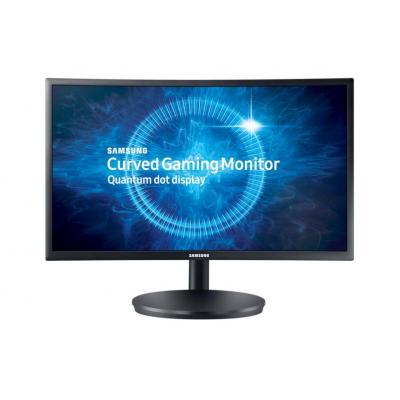 Samsung Curved QLED Gaming 24 inch LC24FG70FQU Monitor - Zwart
