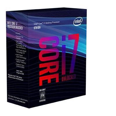 Intel processor: Core Core™ i7-8700K Boxed (12M Cache, up to 4.70 GHz)
