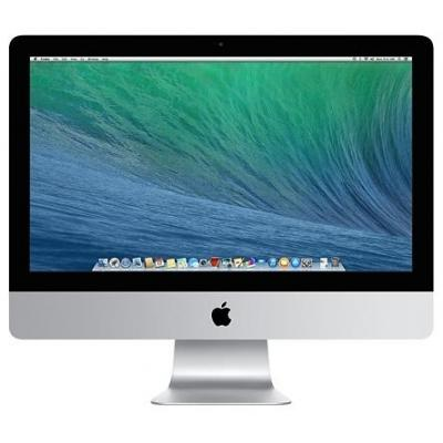 """Apple all-in-one pc: iMac 21.5"""" met 1.4GHz dual core i5-processor - Zilver (Refurbished LG), QWERTY"""