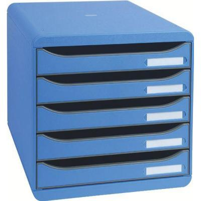 Exacompta Big-Box Plus, A4+, Blu Ghiaccio brievenbak - Blauw
