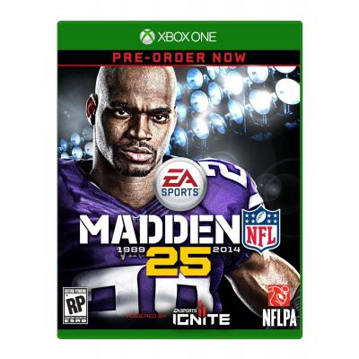 Electronic Arts game: Madden NFL 25, Xbox One