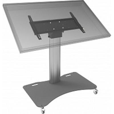 SmartMetals PodiumStatief 950 mm op wielen voor schermen t/m 65 inch, max. 90 kg (montagesysteem 170 x 140 .....