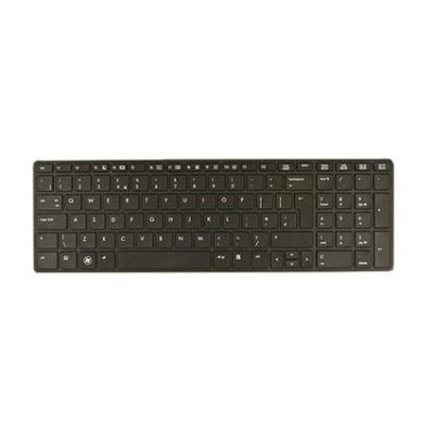Hp notebook reserve-onderdeel: Keyboard without pointing stick for use on ProBook 6570b Notebook PC computer models .....