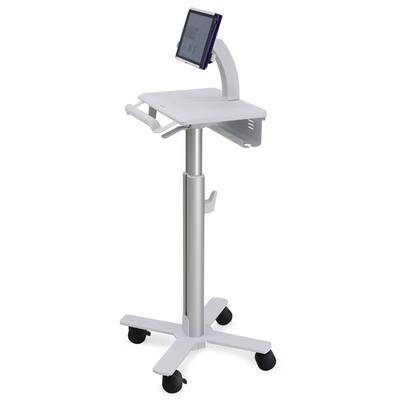 Ergotron StyleView Tablet Cart, SV10 Multimedia kar & stand - Aluminium, Wit