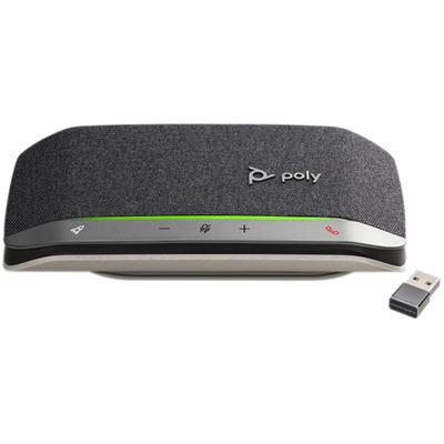 POLY Sync 20+, Standard, USB-C (BT600C) Telefoonspeaker - Zwart, Zilver