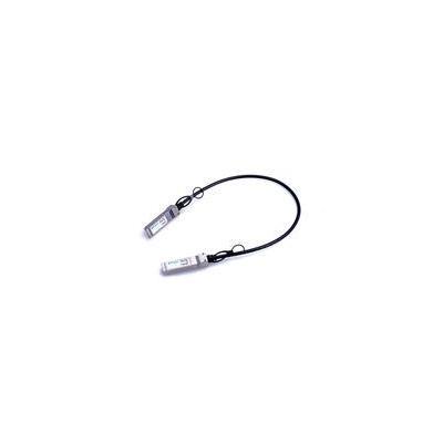 Microoptics kabel: 1m, SFP+, Twinax - Zwart