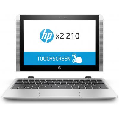 Hp laptop: x2 210 G2 detachable pc (ENERGY STAR) - Zilver
