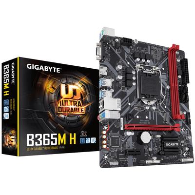 Gigabyte B365M H, Intel B365 Express, LGA 1151, 2x DDR4, VGA, HDMI, LAN, Express x16, Express x1, M.2, SATA .....
