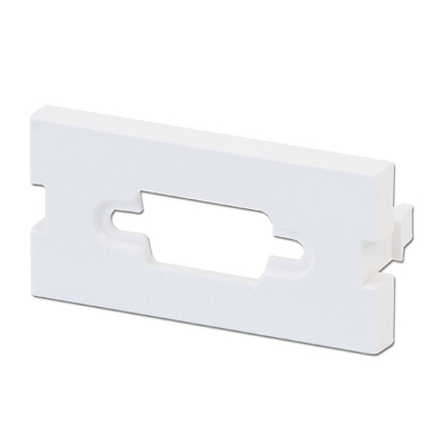 Lindy Snap-in Blank VGA Block, 4 Pack Montagekit - Wit