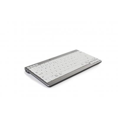 Bakkerelkhuizen UltraBoard 940 toetsenbord - Zilver,Wit, QWERTZ