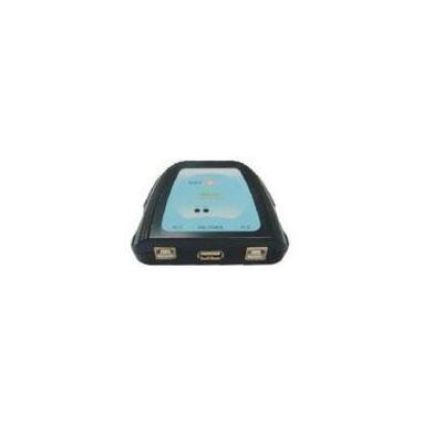 Microconnect 2 Port Manual USB Switch Hub - Zwart, Blauw