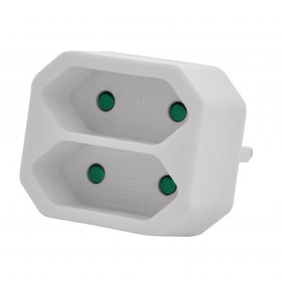 Valueline Power Socket Splitter BR White, 1700 W, 2.5 A stekkerdoos - Wit