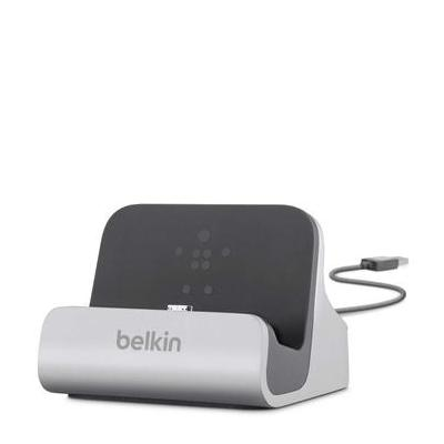 Belkin mobile device dock station: Laad/sync-dock voor Samsung Galaxy S4 - Zilver