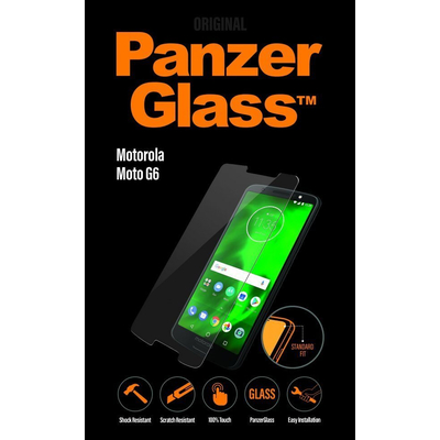 PanzerGlass Motorola Moto G6 Standard Fit Screen protector - Transparant