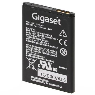 Gigaset Li-Ion, 750 mAh, 3.7 V - Zwart
