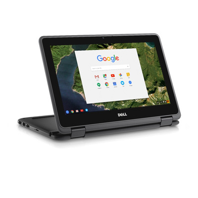 Dell laptop: Chromebook 3189 - Zwart