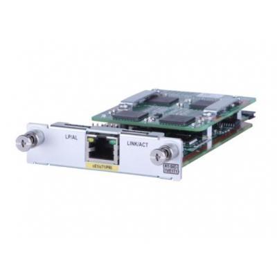 Hewlett Packard Enterprise MSR 1-port E1/T1 Voice SIC Module Voice network module