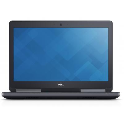 Dell laptop: Precision M7520 - Zwart