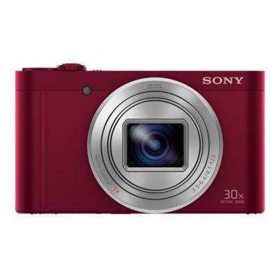 Sony digitale camera: Cyber-shot DSC-WX500 - Rood