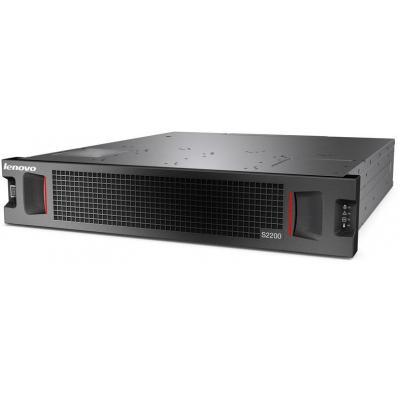 Lenovo SAN: S2200 LFF - Zwart