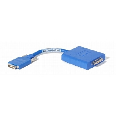 Cisco Smart Serial WIC2/T 26 Pin - X.21 D15 Male DTE kabel adapter - Blauw