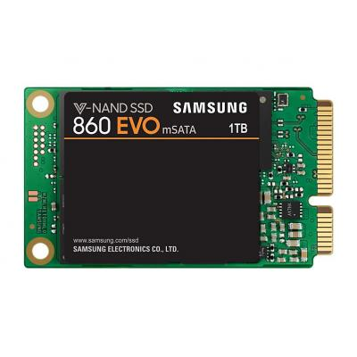 Samsung SSD: 860 EVO - Zwart, Groen