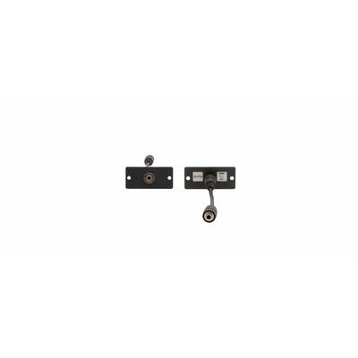 Kramer Electronics Wall Plate Insert — 3.5mm Stereo Audio, white - Wit