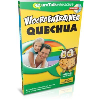 Eurotalk educatieve software: Woordentrainer, Quechua