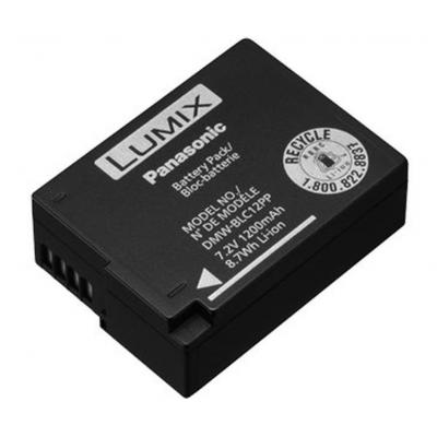 Panasonic batterij: DMW-BLC12 - Zwart