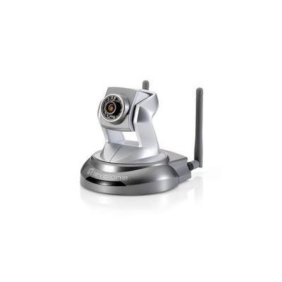 LevelOne WCS-6020 - Draadloze P/T-netwerkcamera met 2-Megapixel voor dag/nacht Beveiligingscamera - Zilver