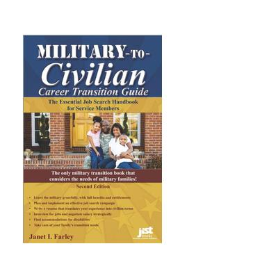 Jist publishing boek: Military-to-Civilian Career Transition Guide - eBook (PDF)