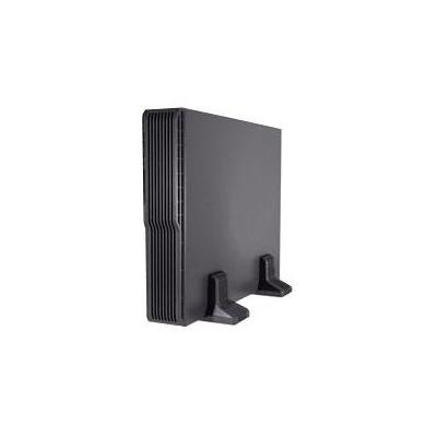 Emerson : External Battery Cabinet with Rail Kit, 2 x 4 x 12V x 9Ah, up to 3000m, 0 - 40°C - Zwart