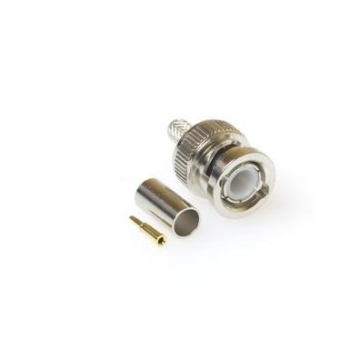 Intronics RG 59 / RG 62 male Crimp Connector Coaxconnector