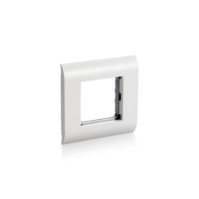 Equip French Modular Faceplate - Window - Wit