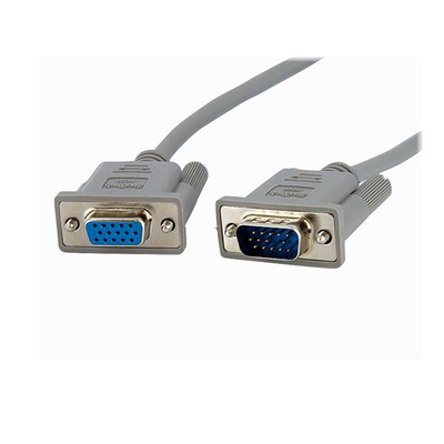 StarTech.com 3m VGA monitor verlengkabel HD15 M/F VGA kabel  - Grijs