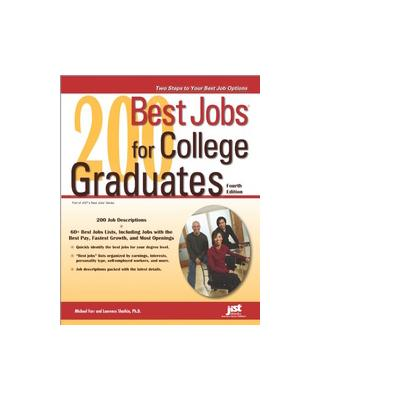 Jist publishing boek: 200 Best Jobs for College Graduates - eBook (PDF)