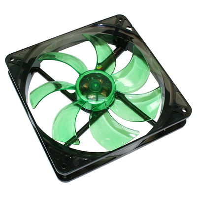 Cooltek Silent Fan 140 Hardware koeling - Zwart, Groen