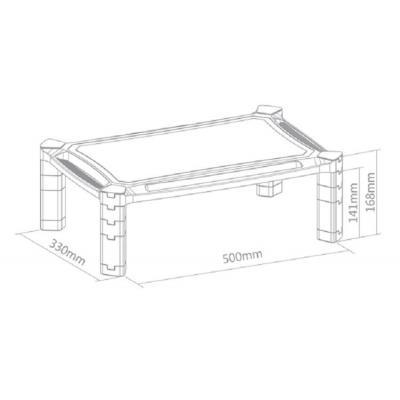 Newstar notebooksteun: NSMONITOR20 is een verhoger voor een monitor of laptop