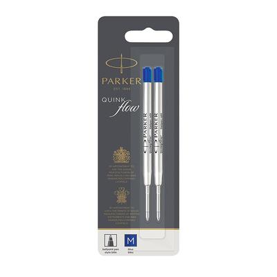 Parker 1950373 Pen-hervulling - Blauw, Zilver