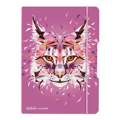 Herlitz Wild Animals Lynx Schrijfblok