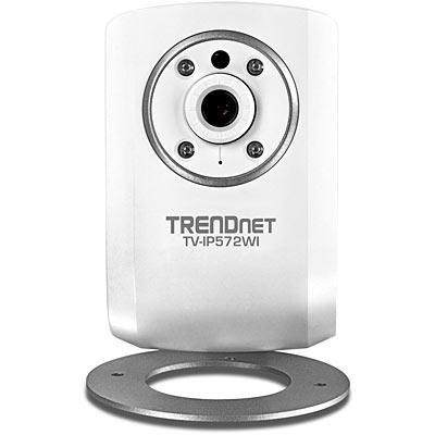 Trendnet beveiligingscamera: Megapixel Wireless N Day/Night Internet Camera, White - Wit