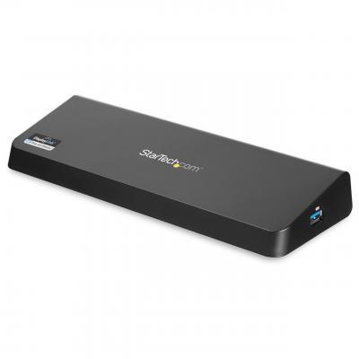 StarTech.com Dual monitor USB 3.0 met HDMI en 4K DisplayPort Docking station - Zwart