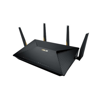 ASUS BRT-AC828 wireless router - Zwart
