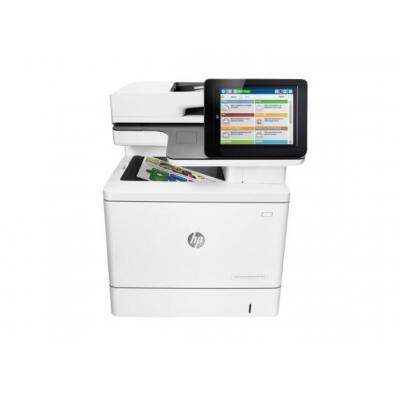 HP laserprinter: LaserJet Color Enterprise M577f MFP  - Wit (Demo model)