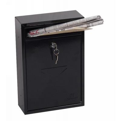 Phoenix 320 x 215 x 85 mm, Key Lock, 2 kg, Black