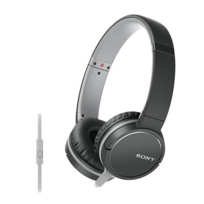 Sony headset: MDR-ZX660AP - Zwart, Grijs