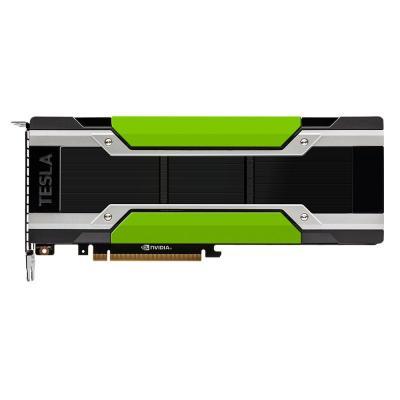 Dell videokaart: NVIDIA Tesla P100, 16GB, 732 GB/s, PCI Express 3.0 x16, 250W - Zwart,Groen