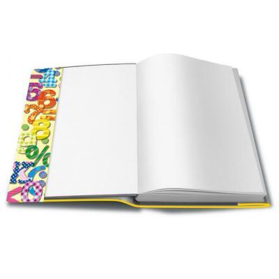 Herma tijdschrift/boek kaft: 25300 - Geel