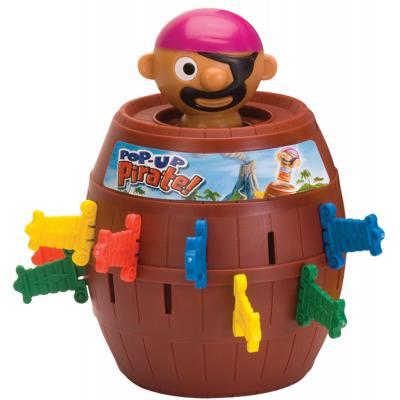 Tomy bordspel: Pop Up Pirate - Bruin